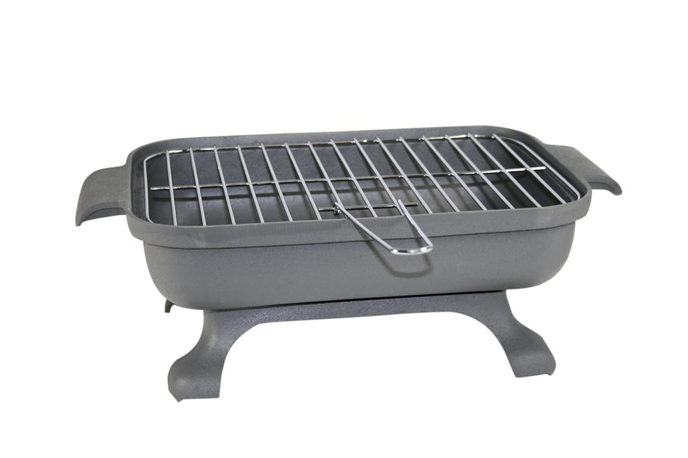 Barbecue de table en fonte tom press for Brasero de jardin en fonte