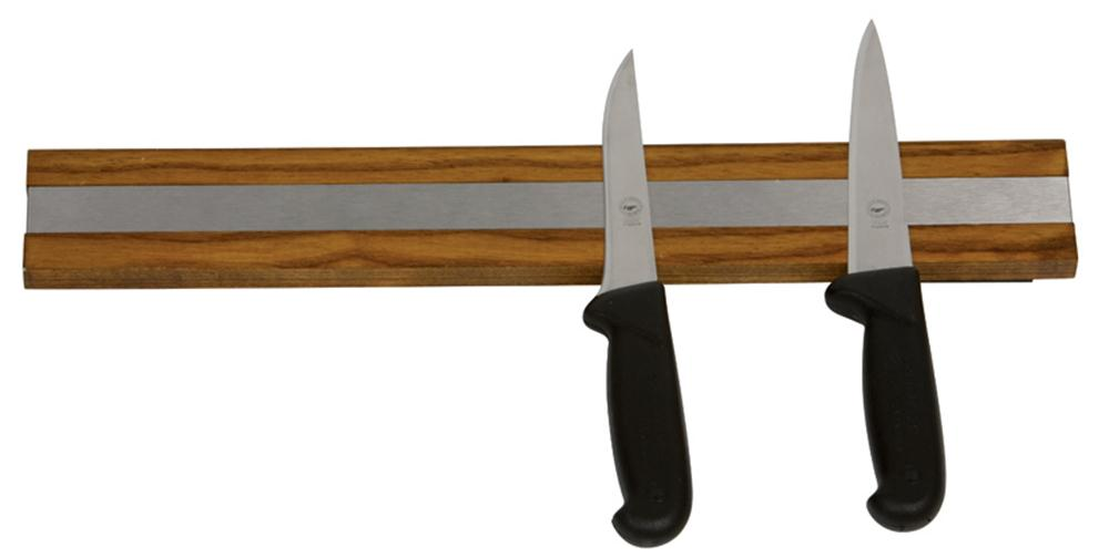 porte couteau aimant n odyme 45 cm avec support bois tom press. Black Bedroom Furniture Sets. Home Design Ideas