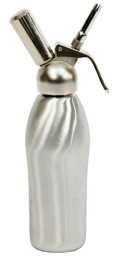 siphon inox professionnel 1 l. à crème chantilly et mousses - tom ... - Syphon De Cuisine Professionnel