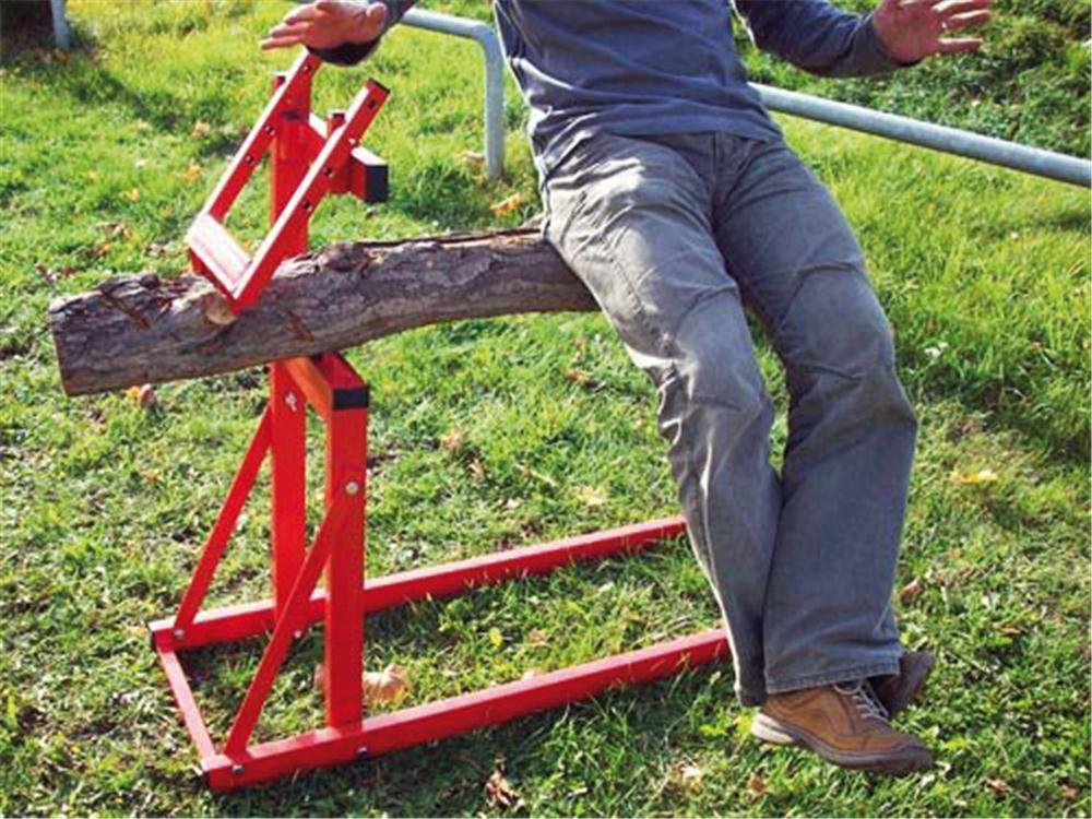 Support pour couper les b ches tom press - Support pour couper du bois ...