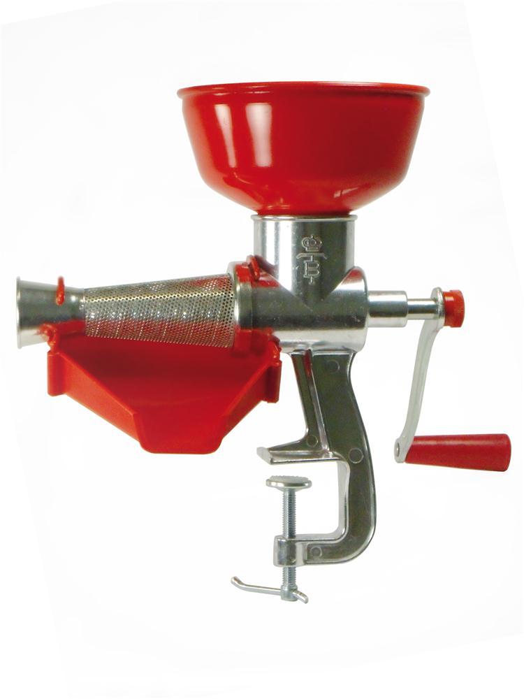 Ep pineuse presse tomate manuel en aluminium tom press - Appareil pour enlever les fourches ...