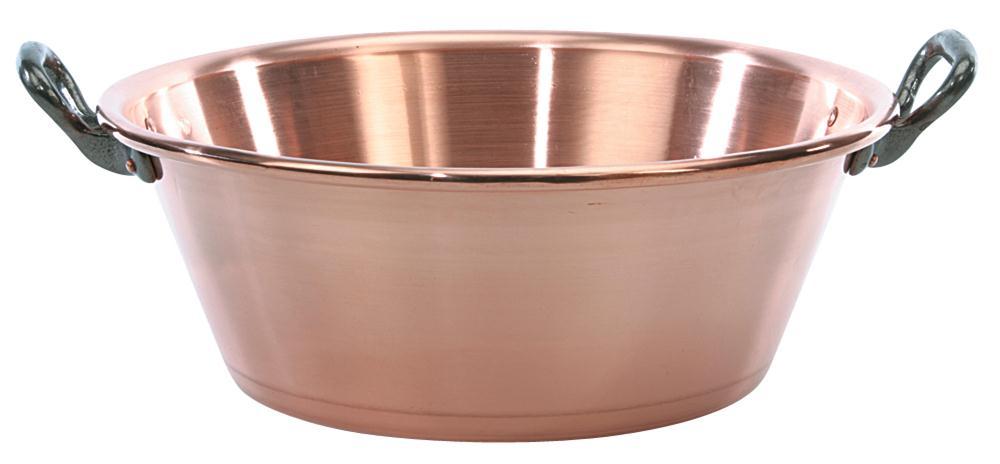 Bassine cuivre confiture 12 litres tom press for Grande bassine plastique bain