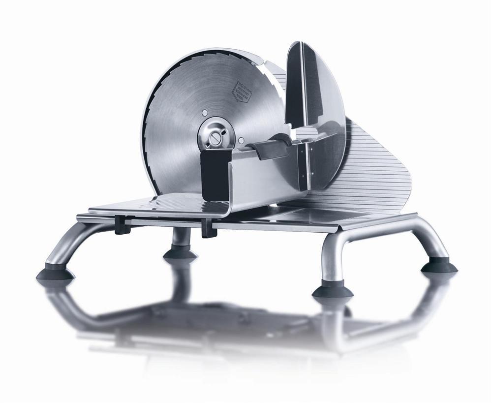 Trancheuse manuelle inox tom press - Machine a couper le jambon manuelle ...