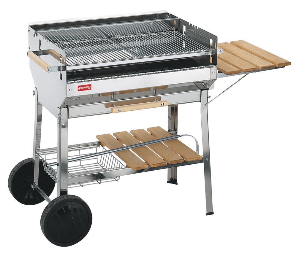 barbecue inox grande grille tom press. Black Bedroom Furniture Sets. Home Design Ideas