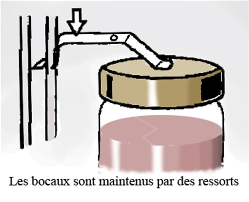 Ressorts crochets pour st rilisateur tom press - Comment faire des conserves en bocaux sans sterilisateur ...