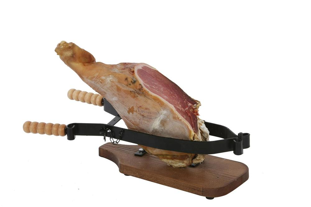 Porte jambon fixation par serrage tom press for Porte jambon