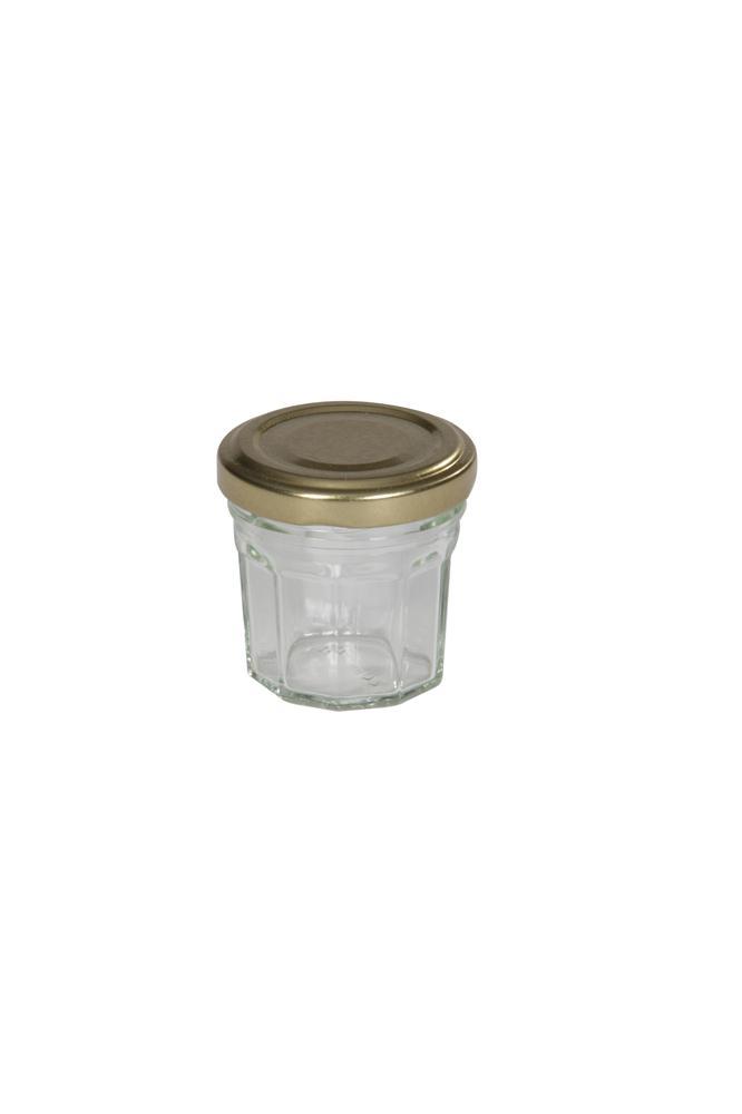 petits pots confiture en verre 44 ml par 170 avec capsules tom press. Black Bedroom Furniture Sets. Home Design Ideas