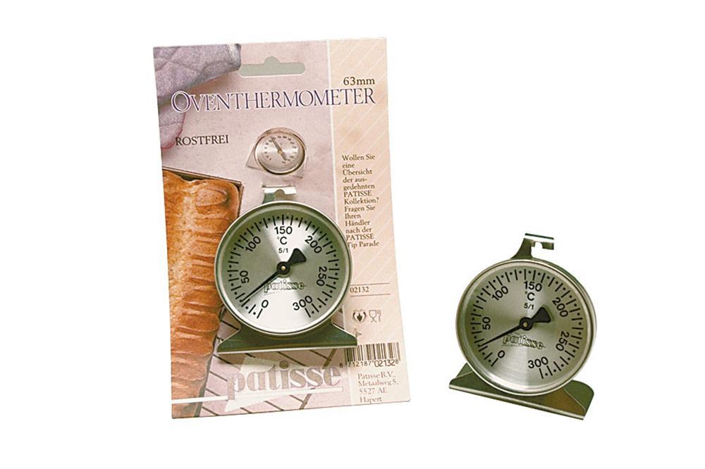 Thermomètre à four en inox  Tom Press ~ Thermometre Four A Bois