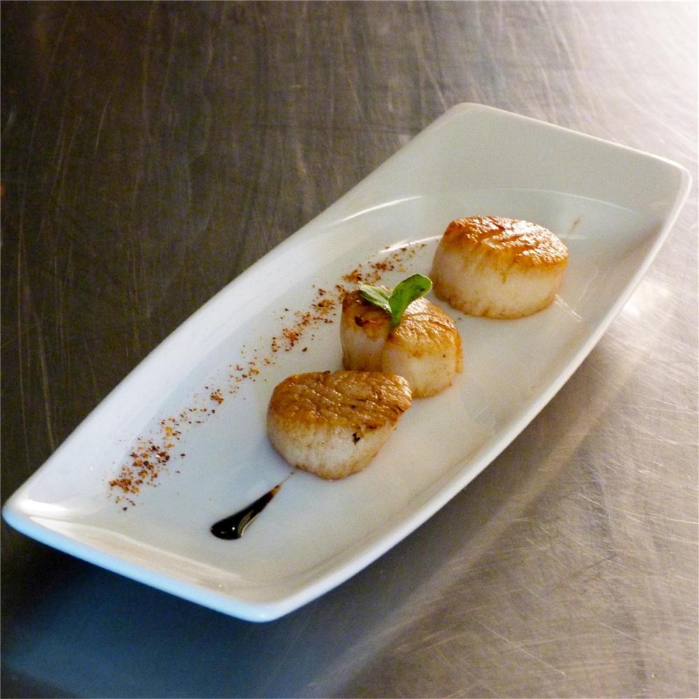 Recette des noix de st jacques par le chef tenailleau - Cuisine noix de saint jacques ...