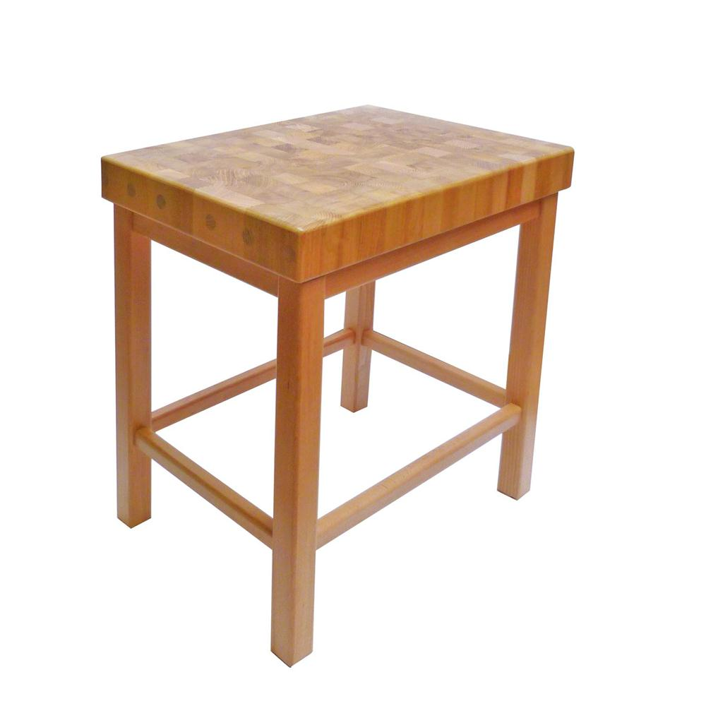Billot de bois a donner for Tables de bloc de boucher de cuisine ikea