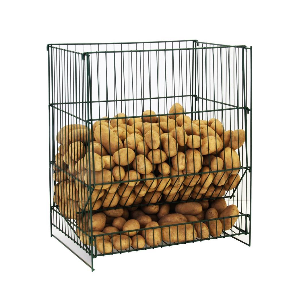 resserre pommes de terre 100 kg tom press. Black Bedroom Furniture Sets. Home Design Ideas