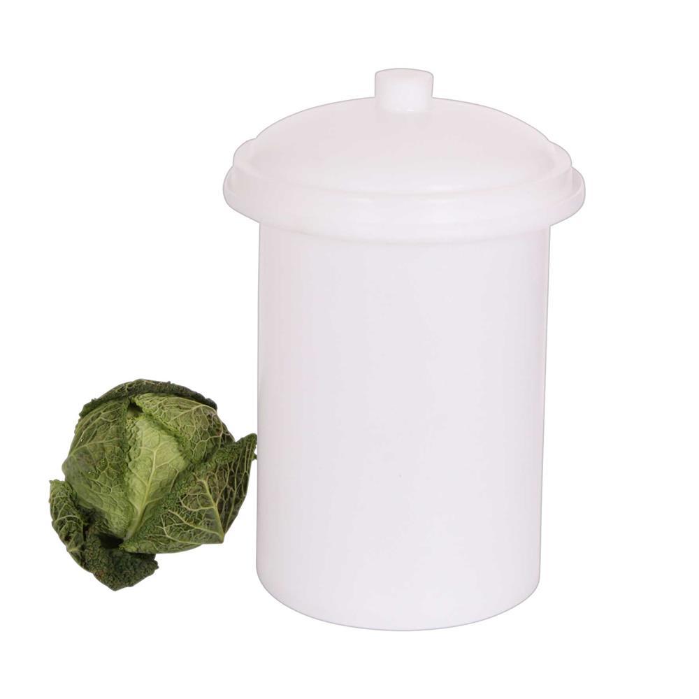 Pot Plastique Grande Taille pot à choucroute en plastique de 15 litres - tom press