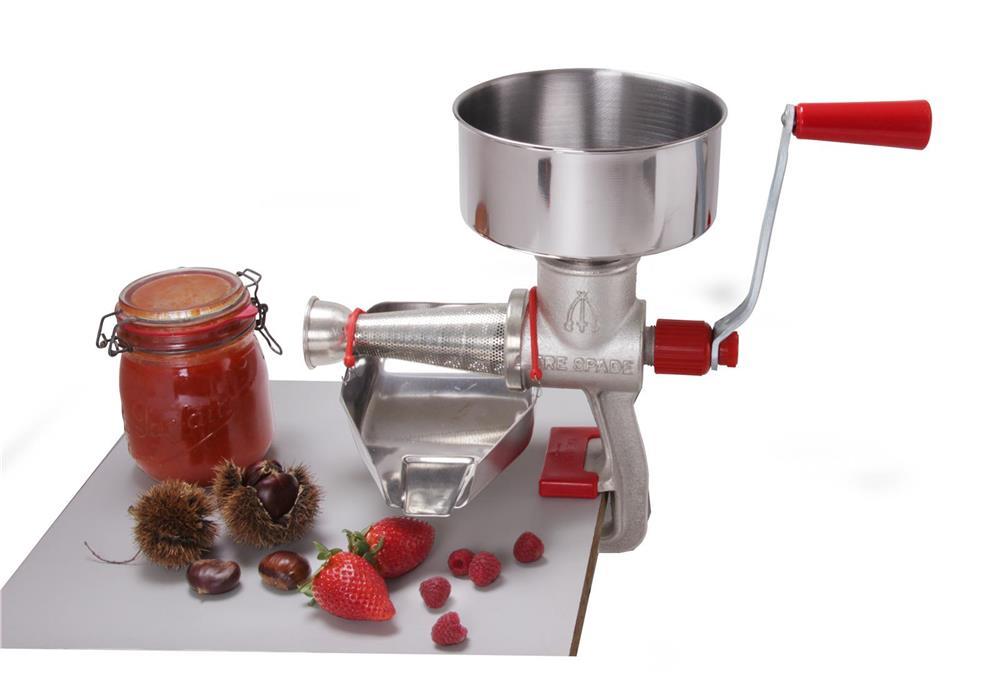 ep pineuse presse tomate et fruit manuelle fonte et inox tom press. Black Bedroom Furniture Sets. Home Design Ideas