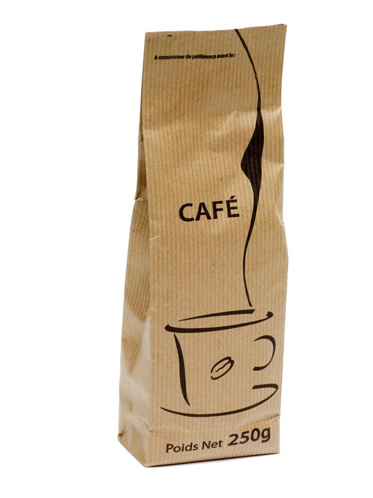 paquet de caf moulu 250 g pour cafeti re piston tom press. Black Bedroom Furniture Sets. Home Design Ideas