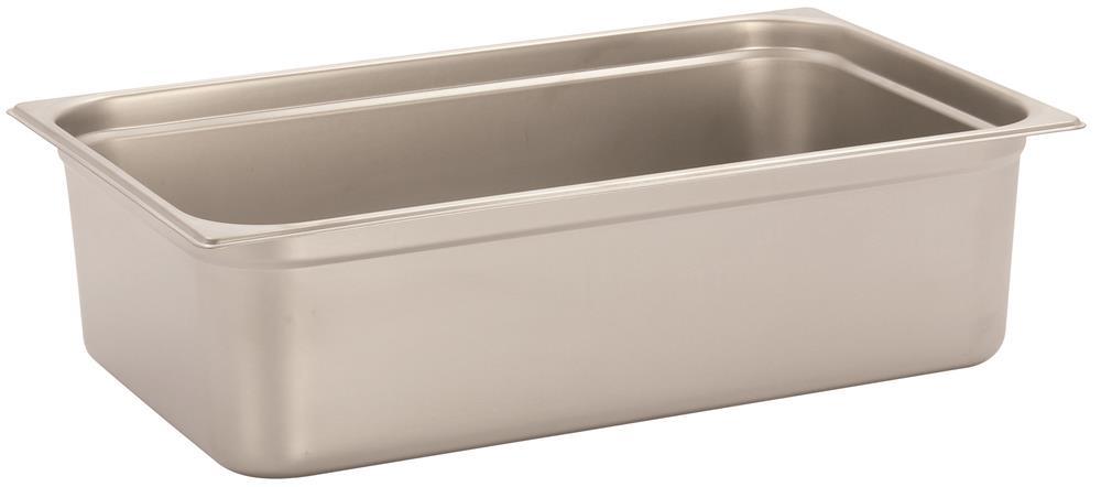 bac gastronorm inox gn 1 1 h 15 cm en 631 tom press. Black Bedroom Furniture Sets. Home Design Ideas