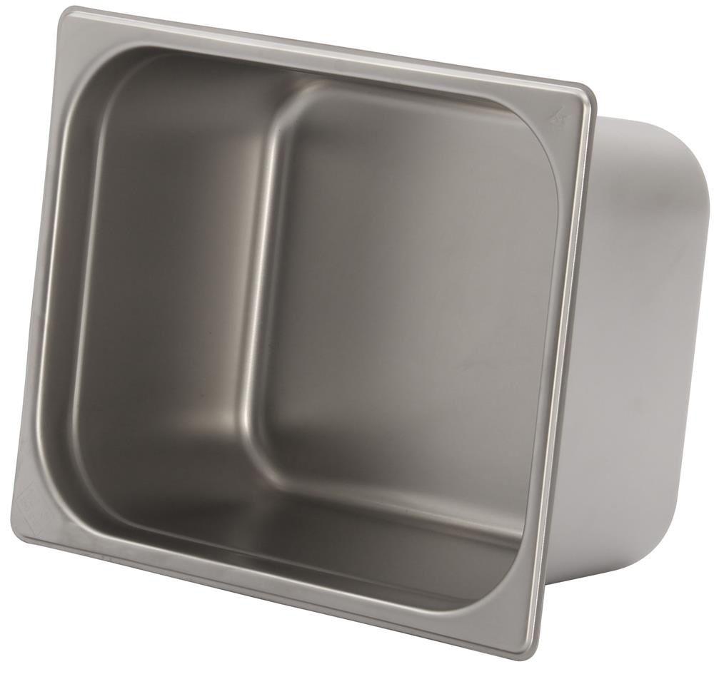 Bac gastronorm inox gn 1 2 h 15 cm en 631 tom press for Bac a poisson inox