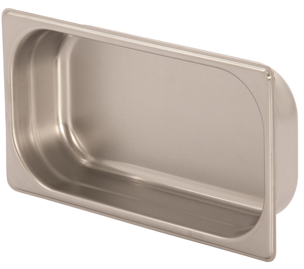 Bac gastronorm inox gn 1 3 h 6 5 cm en 631 tom press for Bac a poisson inox