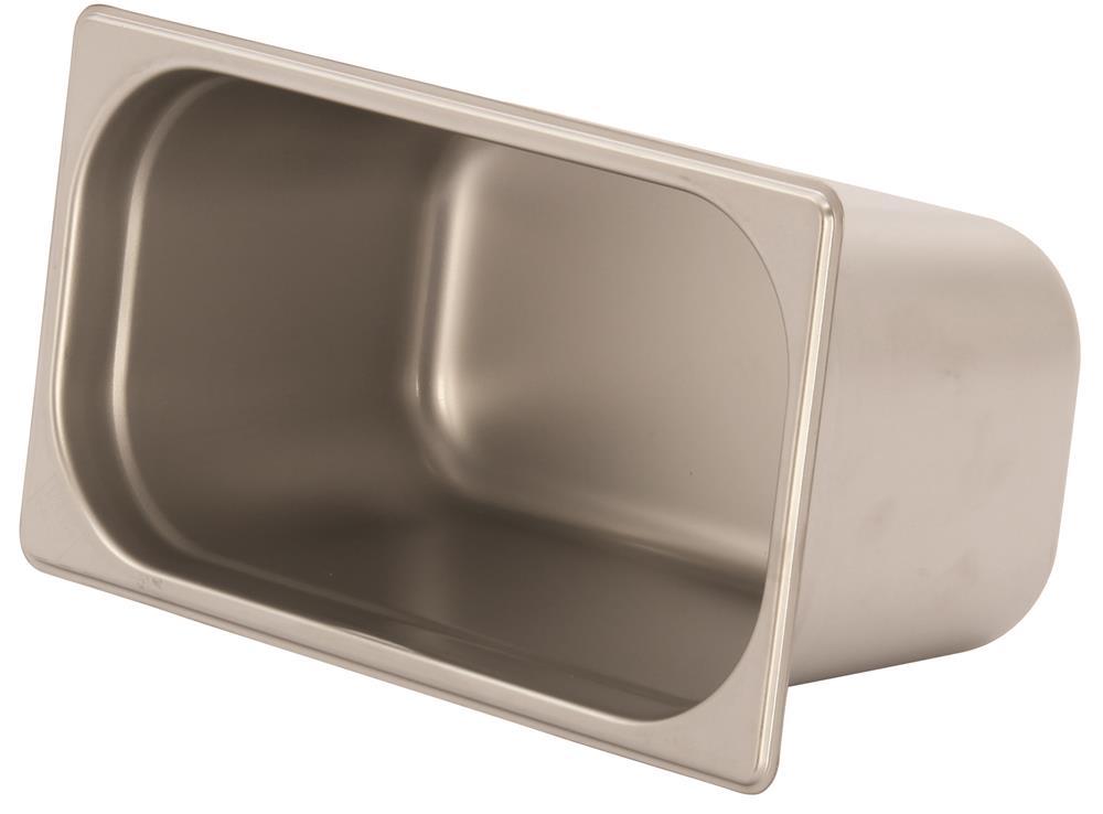 Bac gastronorm inox gn 1 3 h 15 cm en 631 tom press for Bac a poisson inox