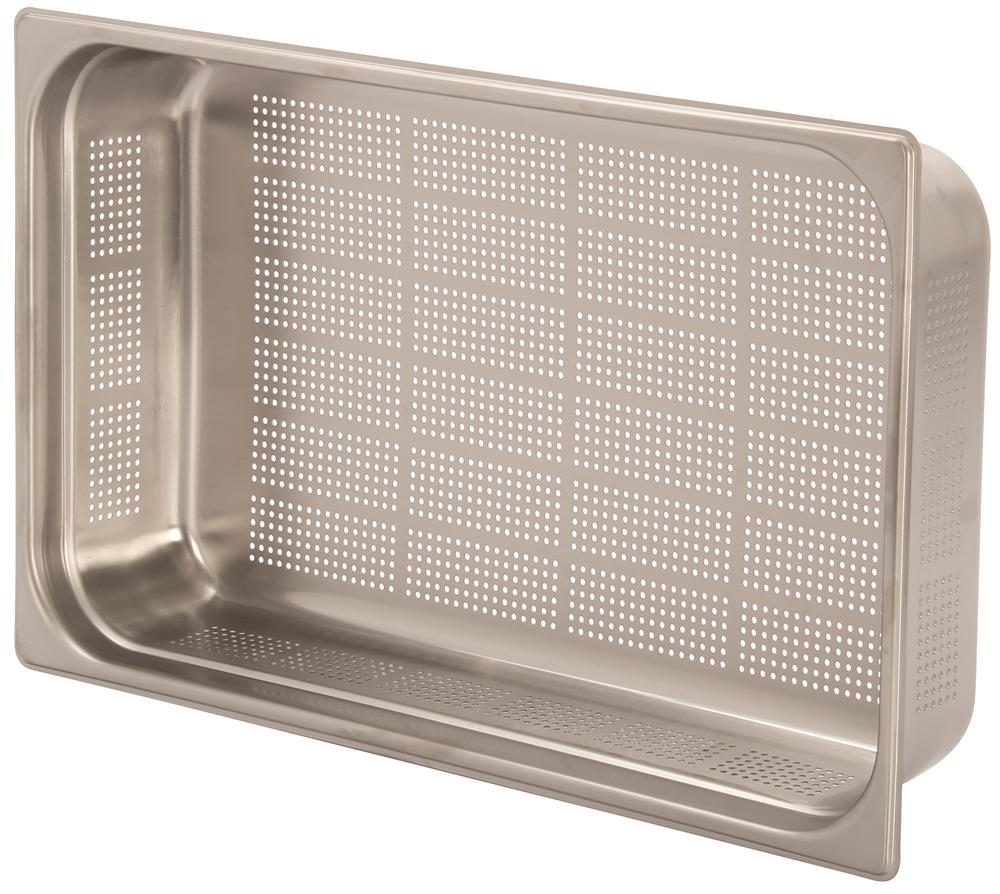 bac gastronorm inox gn perfor 1 1 h 10 cm en 631 tom press. Black Bedroom Furniture Sets. Home Design Ideas