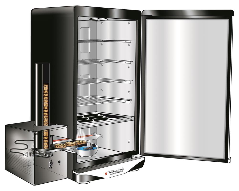 Fumoir lectrique semi automatique tom press for Fumoir a froid maison