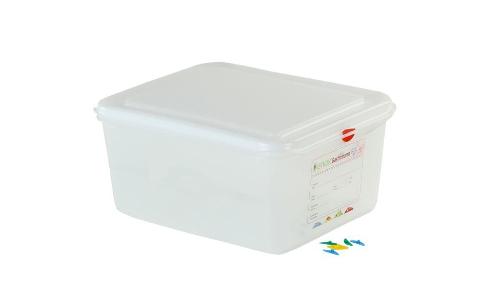Bac plastique tanche gn 1 2 10 l h 15 cm tom press - Bac rangement plastique sous lit ...