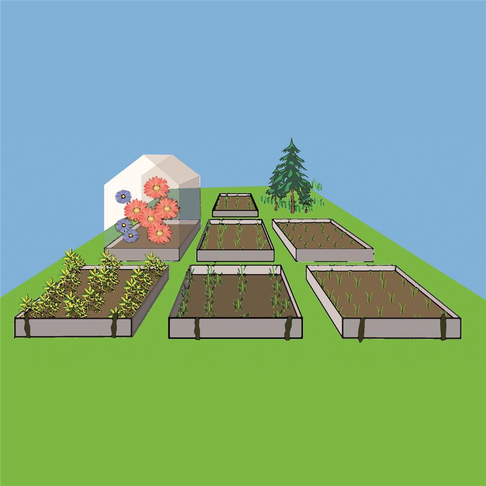 Les mini serres de jardin tom press - Les serres de jardin ...