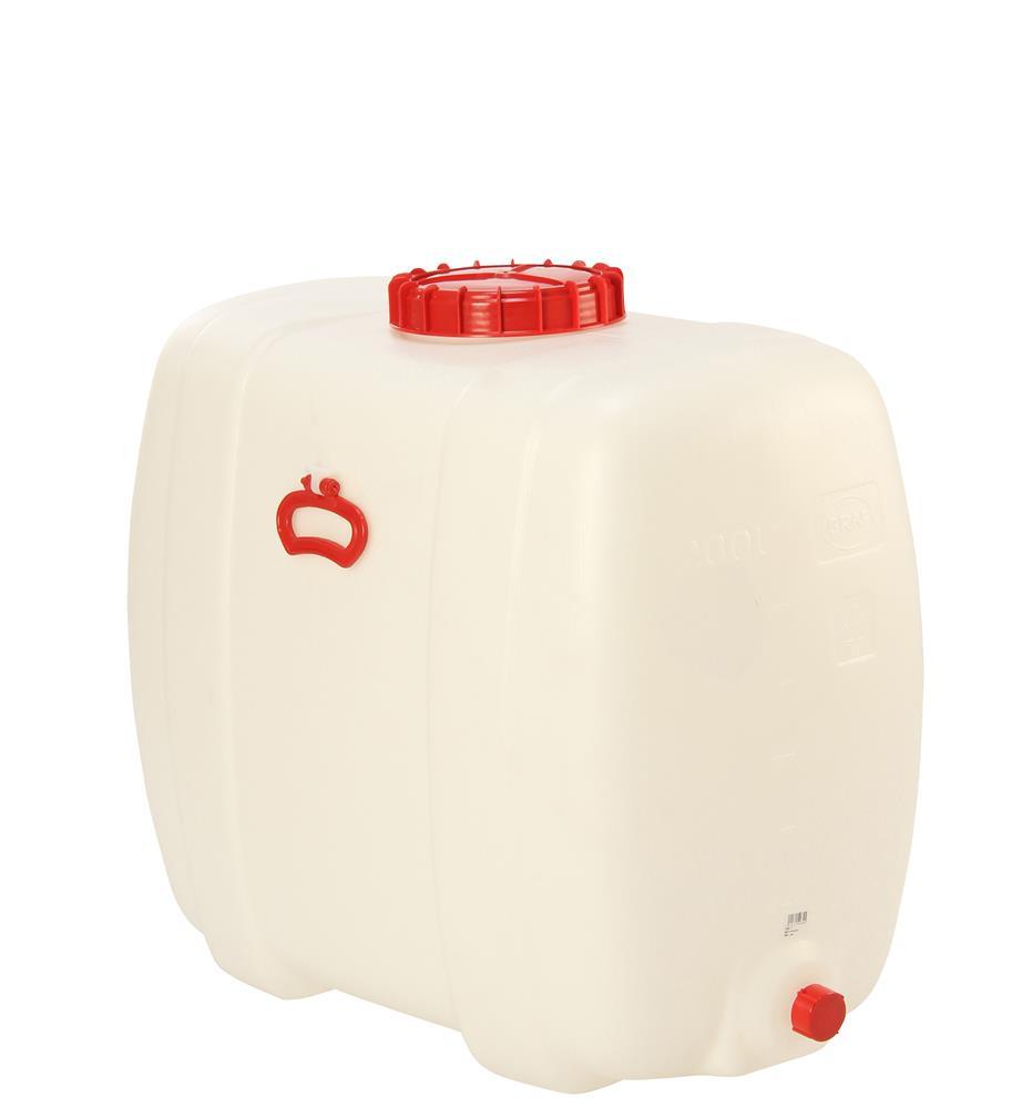 cuve alimentaire rectangulaire de 200 litres tom press