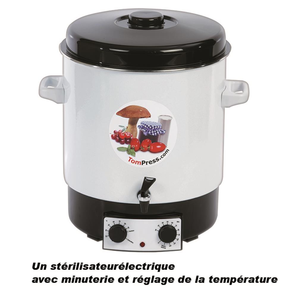 Autoclave ou st rilisateur tom press for Autoclave pour conserves maison