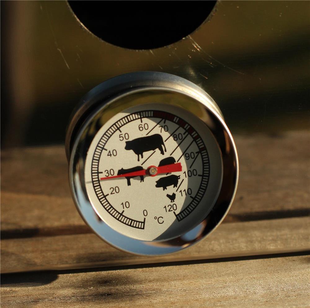 Thermom tre de cuisson sonde et cadran tom press - Thermometre de cuisson boulanger ...