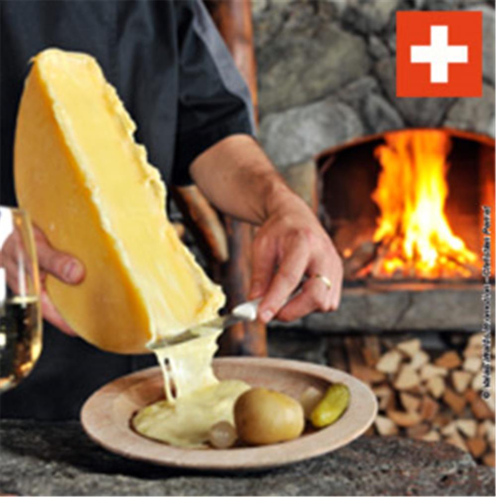 La vraie raclette tom press - Appareil a fondue savoyarde traditionnel ...