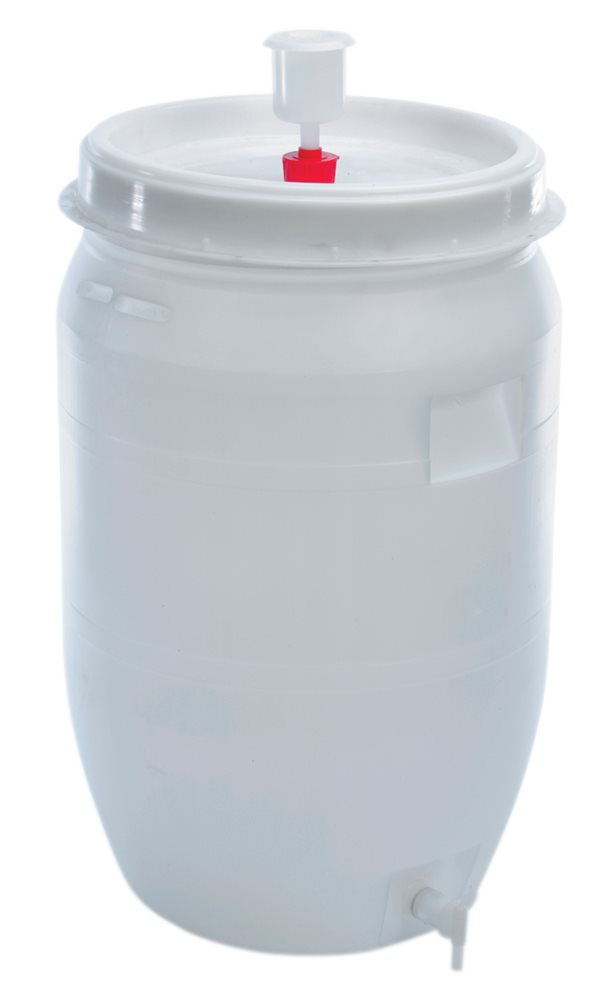 cuve de fermentation plastique 60 litres tom press. Black Bedroom Furniture Sets. Home Design Ideas