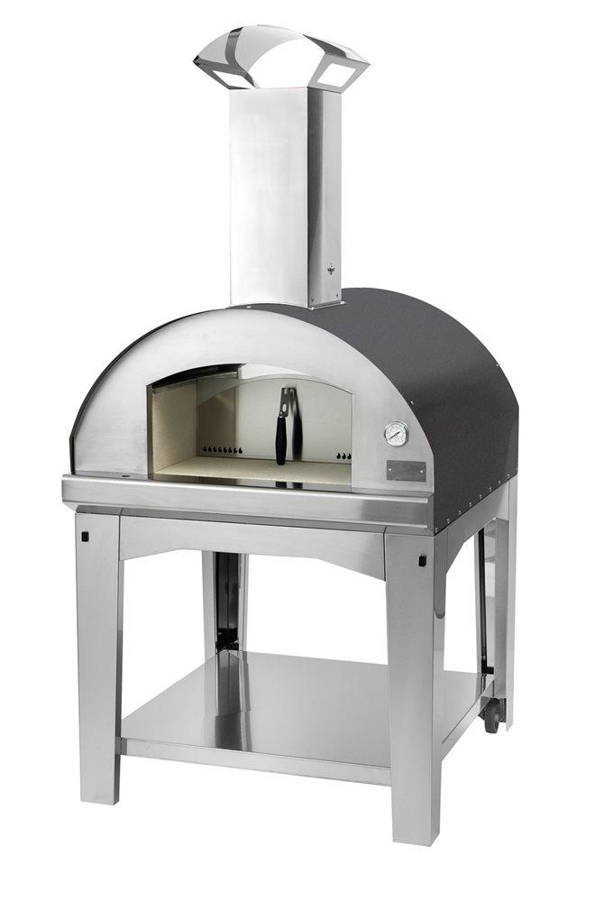 four pizza 60x80 cm avec grille pour barbecue tom press. Black Bedroom Furniture Sets. Home Design Ideas