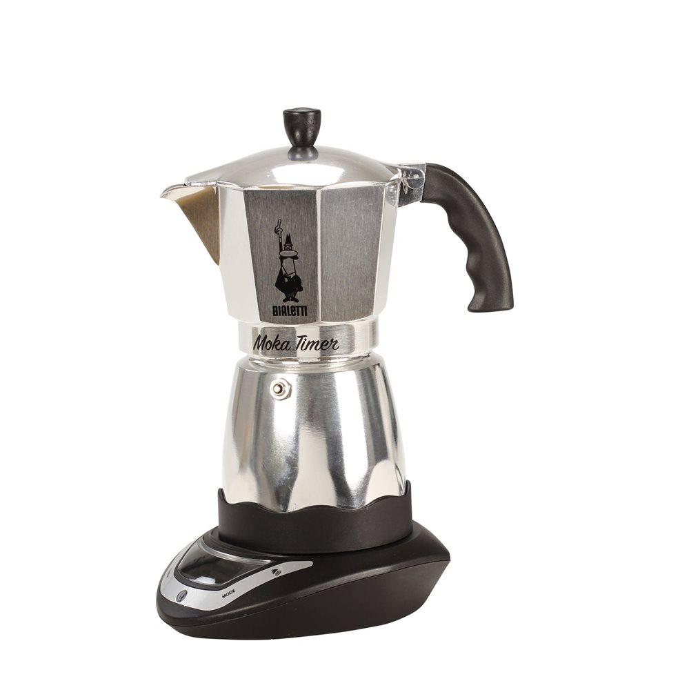 cafeti re italienne lectrique timer 6 tasses tom press. Black Bedroom Furniture Sets. Home Design Ideas