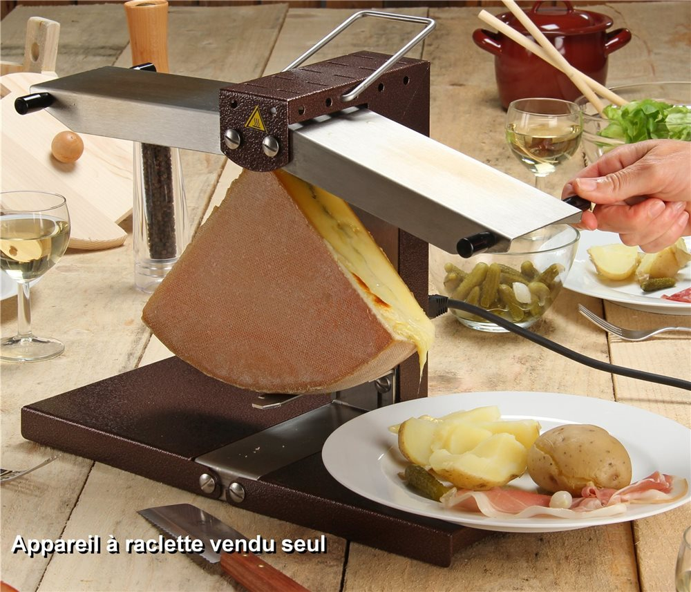 appareil raclette 2 rampes tom press. Black Bedroom Furniture Sets. Home Design Ideas