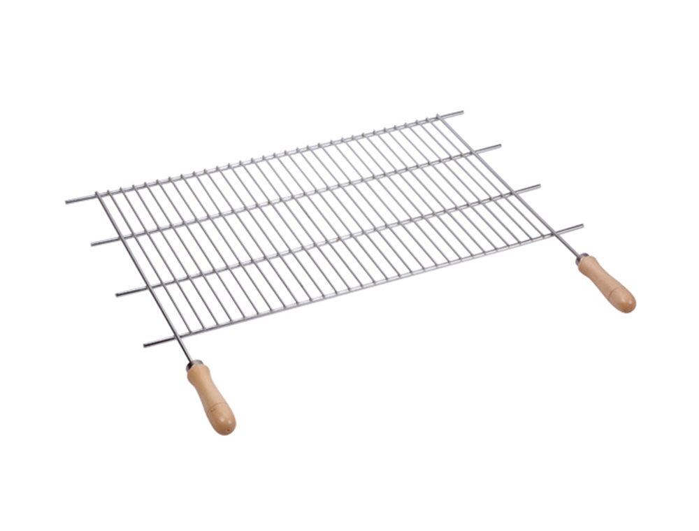 grille de barbecue inox ajustable en largeur 62 5 72 5x40 cm tom press. Black Bedroom Furniture Sets. Home Design Ideas