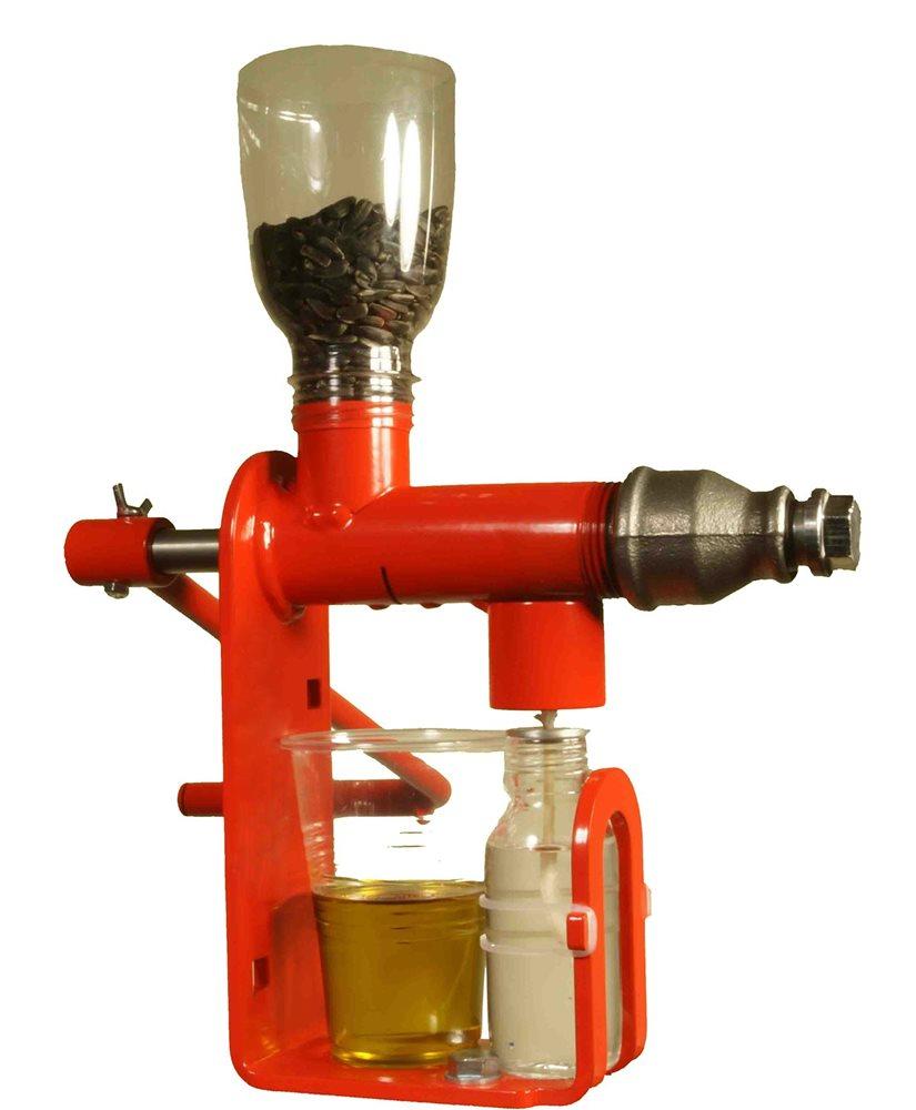 Presse huile de table pour graines ol agineuses tom press for Fabrication presse hydraulique maison