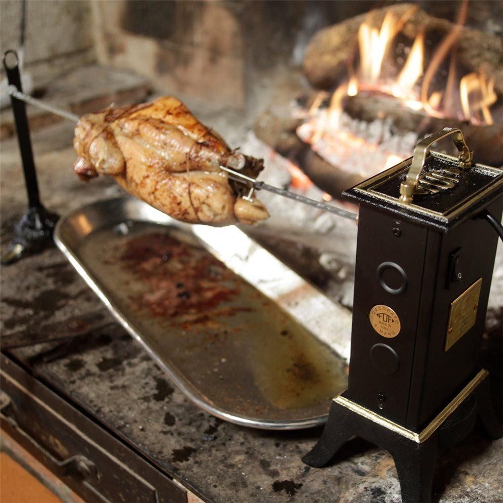 offres exclusives vente officielle luxuriant dans la conception La cuisson au tournebroche - Tom Press