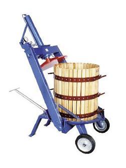 Pressoir hydraulique manuel à étrier 327 litres