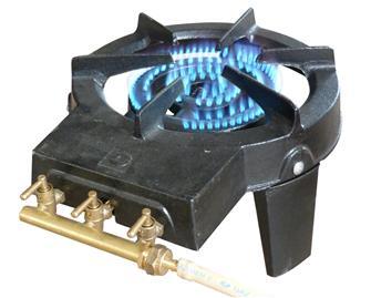 St rilisateur 11 bocaux galvanis guillouard tom press - Rechaud a gaz en fonte 3 robinets ...