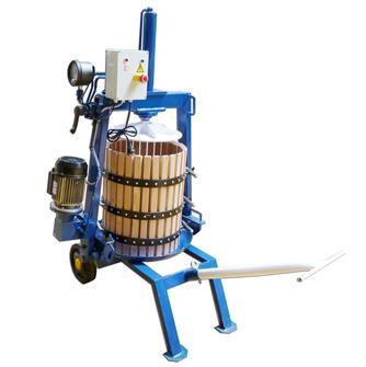 Pressoir hydraulique électrique 128 litres