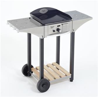 Planchas et plaques de cuisson tom press for Table pour plancha inox