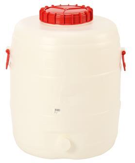 Tonnelet cylindrique 80 litres