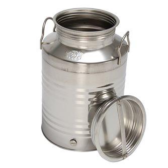 Bidon inox à huile 25 litres